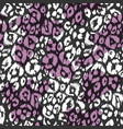 animal pattern seamless vector image vector image