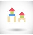 Building block vector image