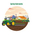 colorful agriculture and farming concept