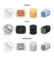 container for carrying animals and other vector image vector image