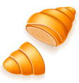 croissant 16 vector image