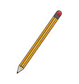 isolated pencil design vector image vector image