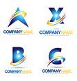 Lette Logo Designs vector image vector image