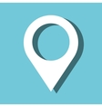 pin pointer location icon vector image