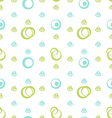 Seamless Futuristic Texture Elegance Pattern vector image vector image
