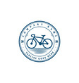 vintage retro hipster bike bicycle sport store vector image vector image