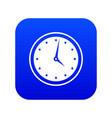 watch icon digital blue vector image
