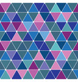 winter triangle pattern 29 vector image vector image