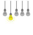 best idea concept symbol vector image vector image