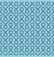 blue linear weaved seamless pattern vector image vector image