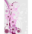 Cherry blossom sakura flowers vector image