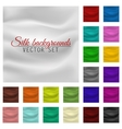 Colorful satin or silk background set