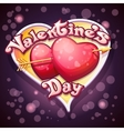 Festive of Valentines Day vector image vector image