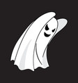 ghost cartoon character vector image vector image