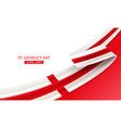 happy st george day vector image vector image