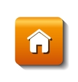 home house silhouette isolated icon vector image vector image
