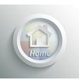 Icon home vector image