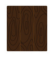 icon of parquet plank pattern vector image vector image