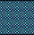 light blue abstract seamless circle pattern vector image vector image