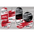 Sale tags Labels for discount vector image