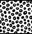 seamless trendy modern brush spot pattern vector image vector image