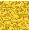 seamless wave background of doodle drawn vector image vector image