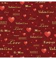 valentine pattern vector image