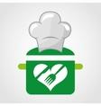 vegetarian menu healthy food vector image vector image