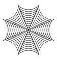 nice spiderweb icon outline style vector image