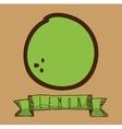 fruit cute design vector image vector image