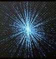 light shine glitering rays or beams glitter vector image
