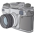 stylized camera vector image