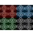 celtic seamless vector image vector image
