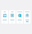 data security cyber protect technology ux ui vector image