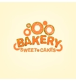 editable Bakery logo vector image vector image