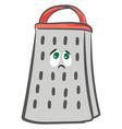 emoji sad grater or color vector image vector image