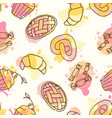 Fruits seamless pattern hand drawn