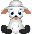 Funny sheep vector image