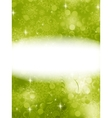 Green Christmas Background EPS 10 vector image vector image