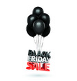 group balloons sale message for shop vector image vector image