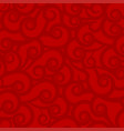 red bright colorful abstract background with wavy vector image vector image