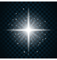 Shine star sparkle icon 20 vector image vector image