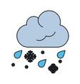 weather icon image vector image vector image