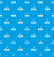 welding service pattern seamless blue vector image vector image