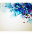 abstract women vector image vector image