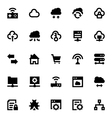 Cloud Data Technology Icons 5