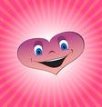 Heart boy character vector image