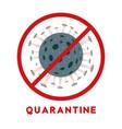 symbol fight against coronavirus medical vector image vector image