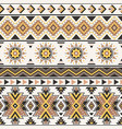 tribal geometric seamless pattern vector image