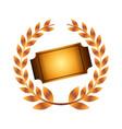 ticket cinema isolated icon vector image